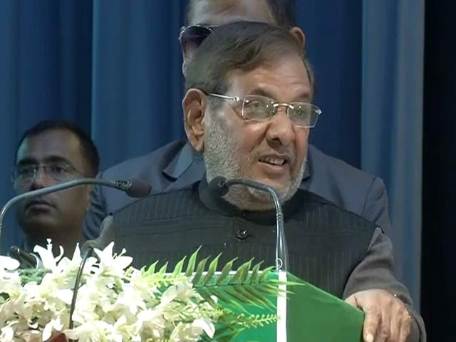 Video : 'Honour Of Votes Above Daughter's Izzat': Sharad Yadav, Outrageously Yours
