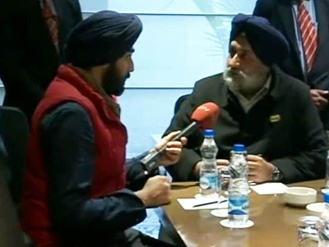 Video : Sukhbir Badal And <i>Aloo Ka Paranthas</i> In Rapid Fire Interview