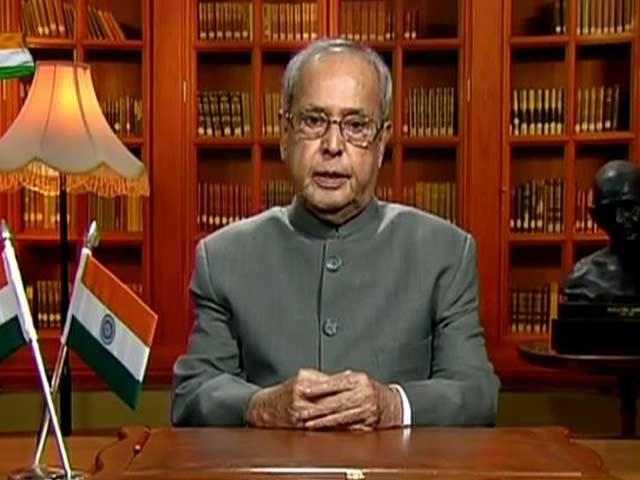 Video : We Celebrate Argumentative, Not Intolerant Indian, Says President