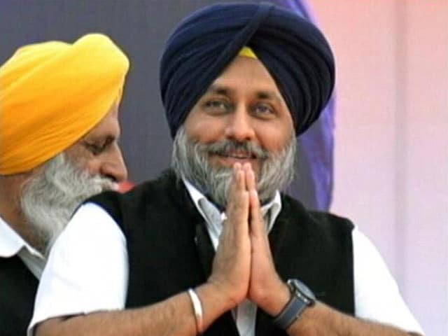 Video : On The Campaign Trail With Sukhbir Badal
