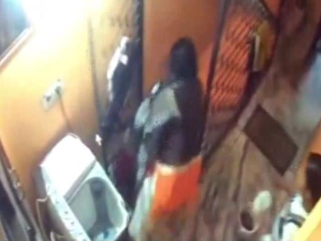Video : On Camera, Mother Throws 2-Year-Old Down Stairs During Fight With In-Laws