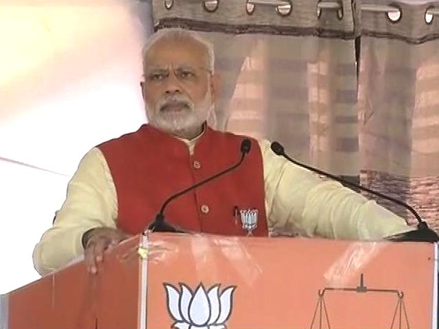 Video : Congress Is Collapsing Across The Country, Says PM Modi In Jalandhar
