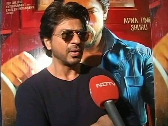 If People Like The Film, Numbers Will Come: Shah Rukh Khan