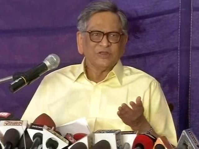 Video : SM Krishna Quits Congress, Says Party 'Doesn't Need Me'