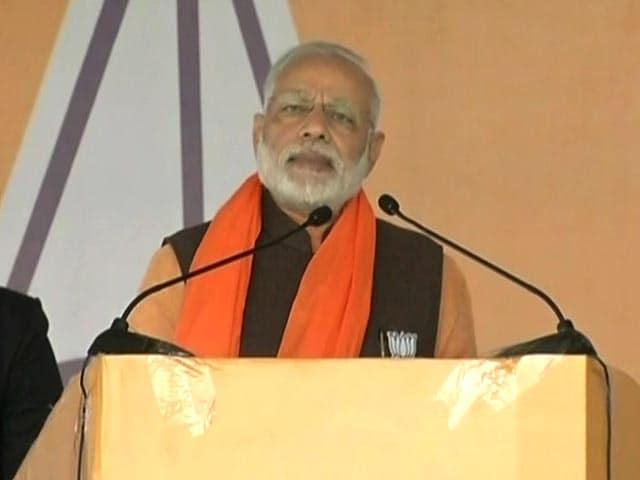 Video : AAP Outsider In Punjab, Can't Leave Border State To Them: PM Modi