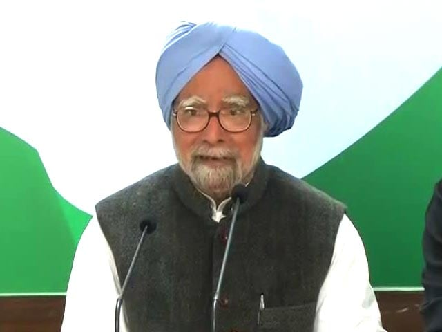 Video : Indian Economy In A Mess, Says Ex-PM Manmohan Singh