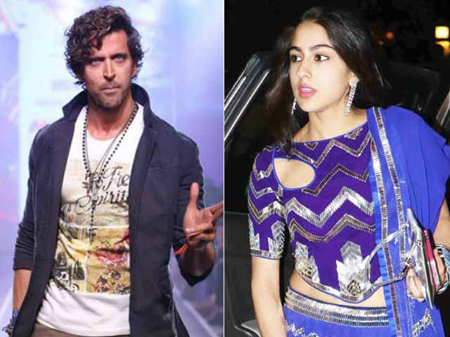 Hrithik Roshan Not To Star With Sara Ali Khan