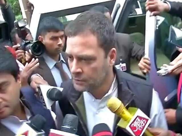Video : Union Budget 2017: We Were Expecting Fireworks, Got A Damp Squib, Says Rahul Gandhi