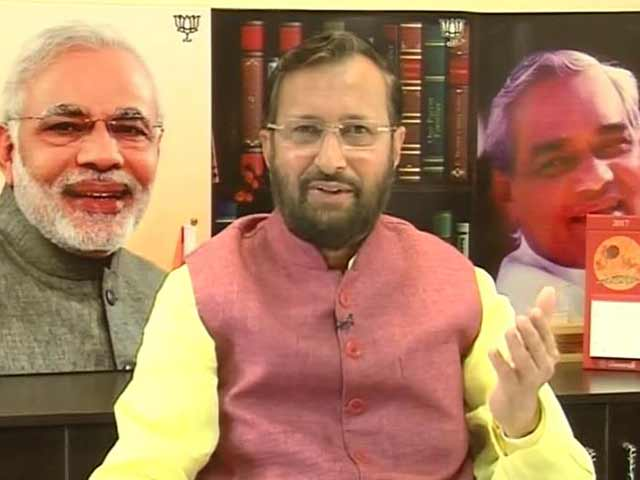 Video : It's A Transformational Budget Of Transforming India: Prakash Javadekar