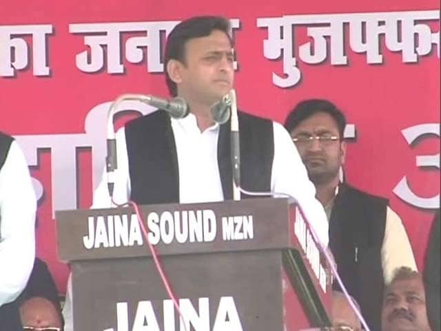 Video : Pressure Cooker, Ghee And Milk Powder If Voted To Power: Akhilesh Yadav