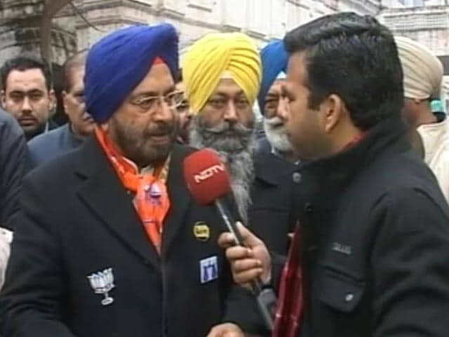 Video : Not A Parachute Candidate, Says Akali's JJ Singh On Amarinder Singh's Turf