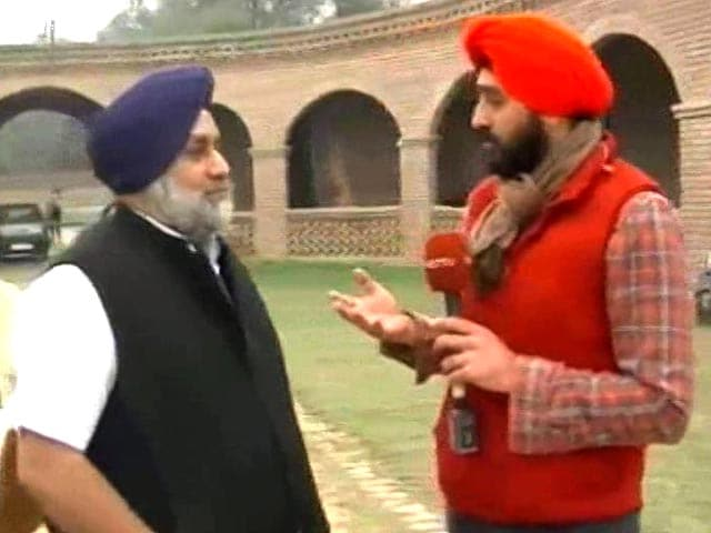 Video : AAP's Jarnail Singh Attends Khalistan Meetings, Alleges Sukhbir Badal