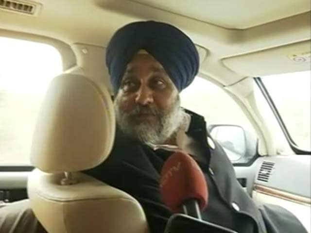 Video : Sukhbir Singh Badal On Why Arvind Kejriwal Really Wants To Win Punjab