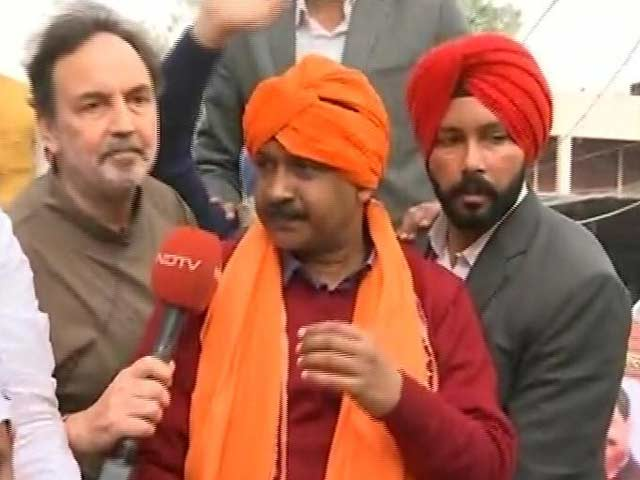 Video : Arvind Kejriwal On How Many Seats AAP Will Win In Punjab
