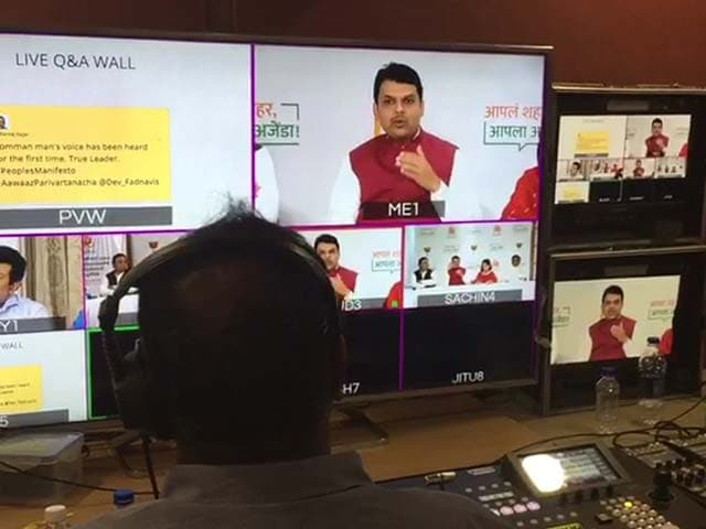 Video : For Rs. 37,000-Crore Corporation, Chief Minister Fadnavis Asks Mumbai, <i>Kya Mangta</i>?
