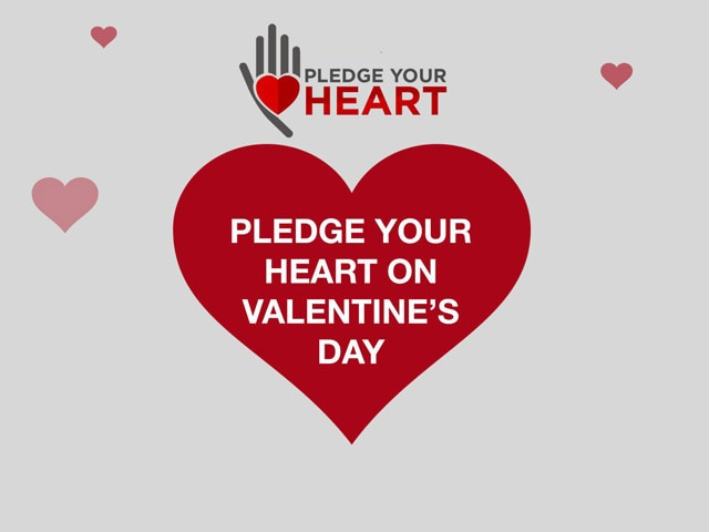 Video : This Valentine's Day, Pledge Your Heart, Be An Organ Donor