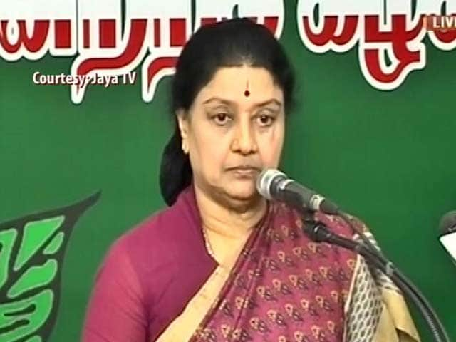 Video : Near-Perfect Attendance As Sasikala Attacks 'Traitor' Panneerselvam