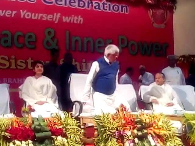 Video : But This Chair Is For Nitish Kumar, Lalu Yadav Was Told