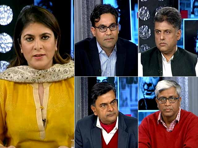 Video : The NDTV Dialogues: Money And Muscle In Indian Politics