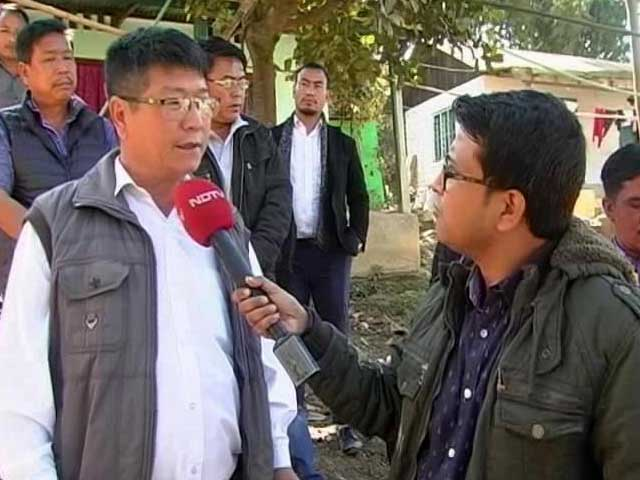 Video : Exclusive: Naga Ancestral Land In Manipur Is Non-Negotiable, Says United Naga Council
