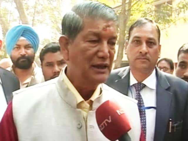 Video : Uttarakhand Election 2017: Harish Rawat Speaks To NDTV After Voting