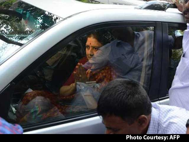 Video : After All-Day Drive From Chennai, Sasikala Now Jailed In Bengaluru