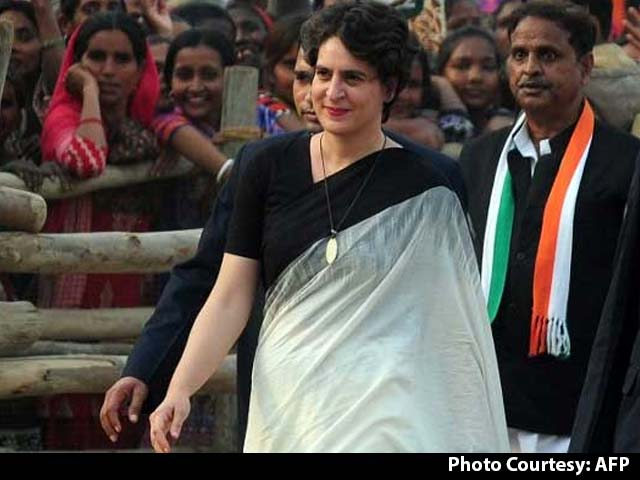 Video : 'UP Does Not Need An Adopted Son,' Priyanka Gandhi Hits Back At PM Modi