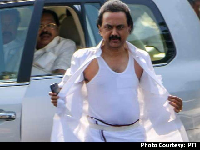 Video : DMK's MK Stalin Steals The Show In Tamil Nadu Trust Vote Chaos