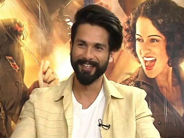 Shahid Kapoor On Rangoon's Difficult Shooting Days
