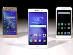 Xiaomi Redmi Note 4 vs Asus ZenFone 3S Max vs Honor 6X