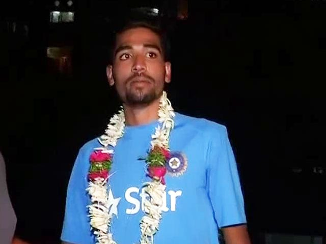 Video : IPL Auction 2017: Mohammed Siraj's Journey From Rs 500 to Rs 2.6 Crore