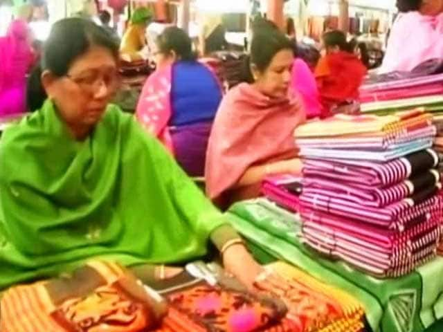 Video : What Asia's Largest All-Women Market Make Of Manipur Elections