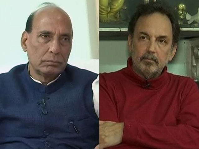 Video : Without Akhilesh-Congress Alliance, BJP Would Cross 300: Rajnath Singh To NDTV