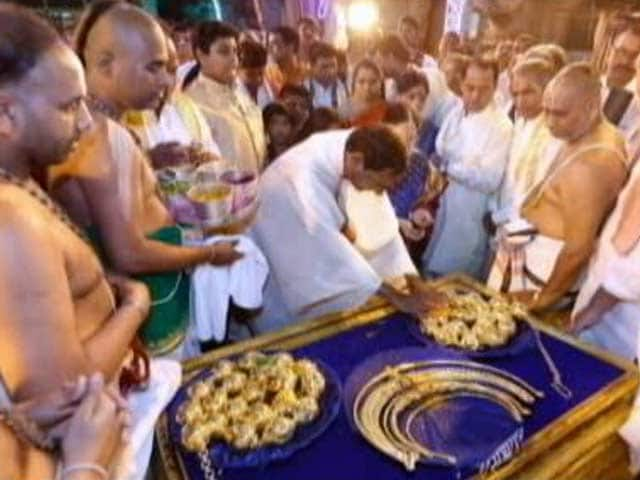 Video : KCR Can't Use Public Funds For Gift To Gods, He Must Pay, Activists Tell Court