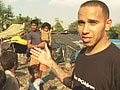The other side of Lewis Hamilton – from the paddock to the slums