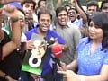 Eden fans celebrate India win with Sachin's memories