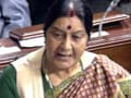 Video : Only Anna Hazare and people of India deserve credit for Lokpal Bill: Sushma Swaraj