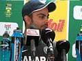 Kohli takes a dig at South African pacers