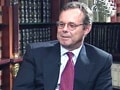 Video: Talking Heads: IBM's Mike Lawrie on challenges ahead of corporate America (Aired: August 2002)