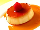 Coconut and Lychee Creme Caramel