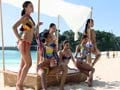 Six leggy ladies come together for Kingfisher Calendar 2014 cover shot