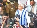 Video : During RJD show of strength after rebellion, stones thrown at Speaker's home
