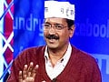 Video : With 28 seats, we did well. Now give us 40 seats: Kejriwal on NDTV