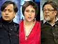 Video: Alumni Shashi Tharoor, Chandan Mitra face new voters at old college
