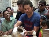 Sachin Tendulkar takes family to Gir, Somnath temple