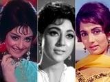 Video: Yesteryear divas: Mala Sinha, Sadhana, Saira Banu