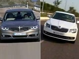 Facelifted Superb & BMW 3 series GT