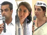Video : A candidate-voter face-off in Mumbai
