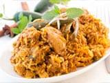 Cheats Chicken Biryani & Apple Kheer