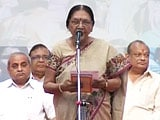 Video : Anandiben Patel Takes Charge as Gujarat's First Woman Chief Minister
